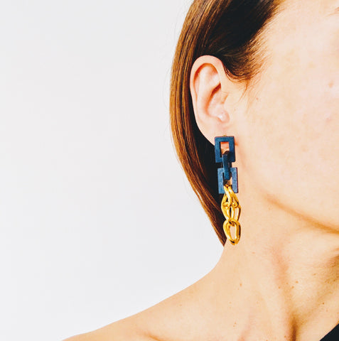 Aveline Wood Earrings