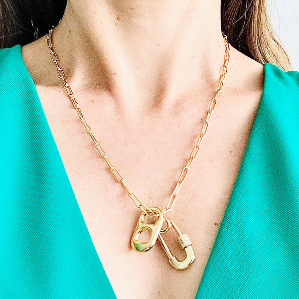 14 Karat Gold Filled Chain Necklace Set