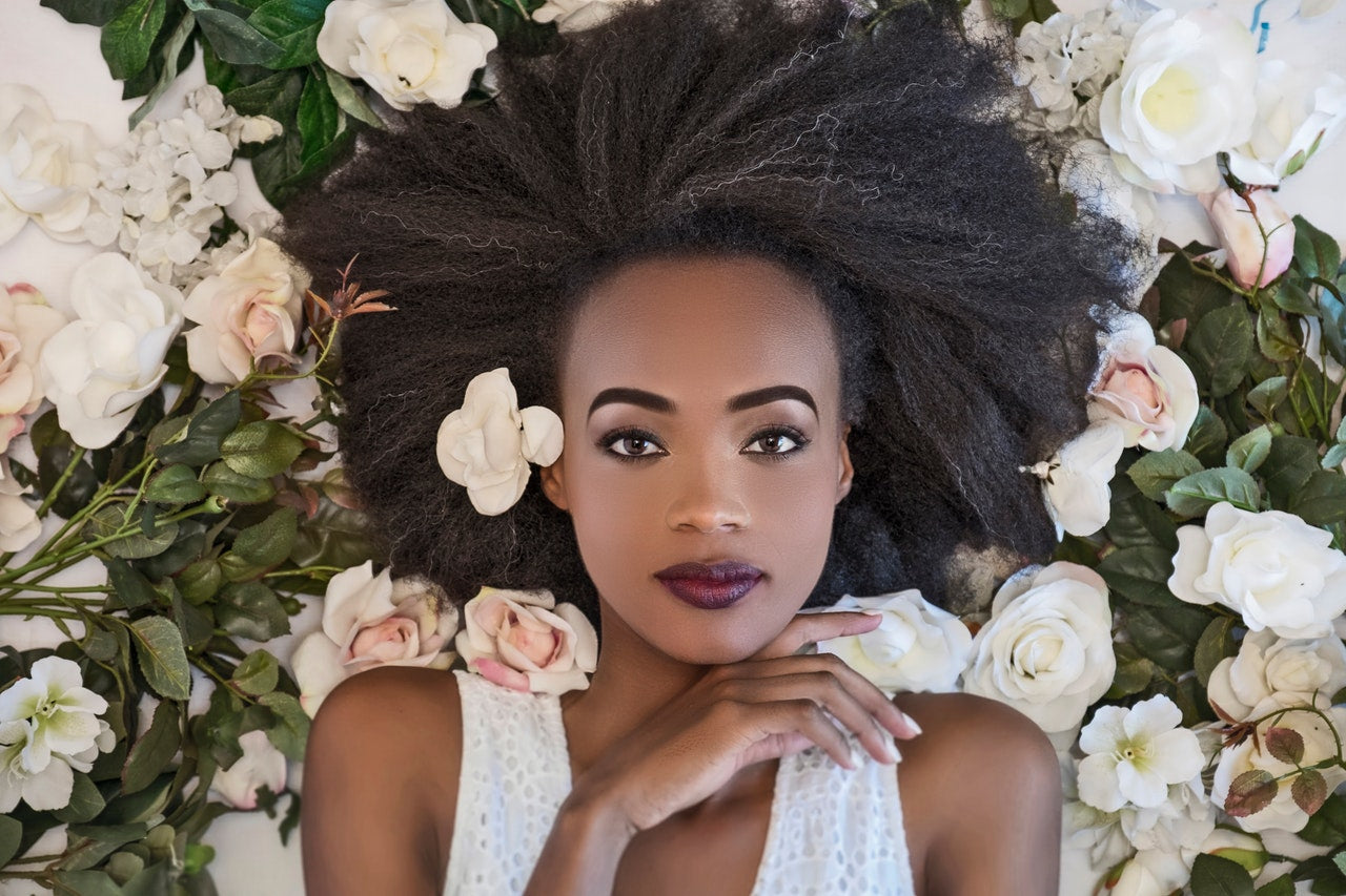 cheveux femme africaine