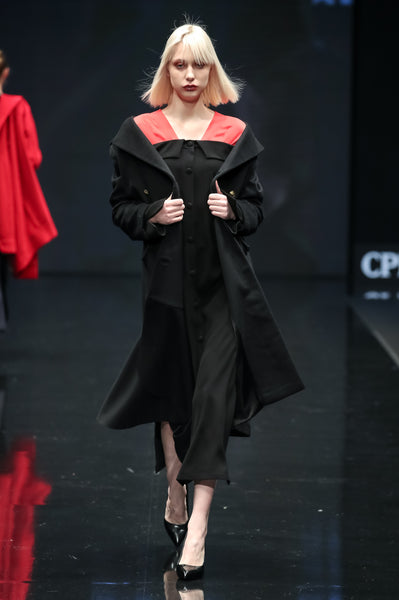 Wool And Cashmere Long Coat