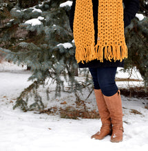 Load image into Gallery viewer, Mustard Anneliese Scarf