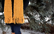 Load image into Gallery viewer, Anneliese Scarf Crochet PATTERN
