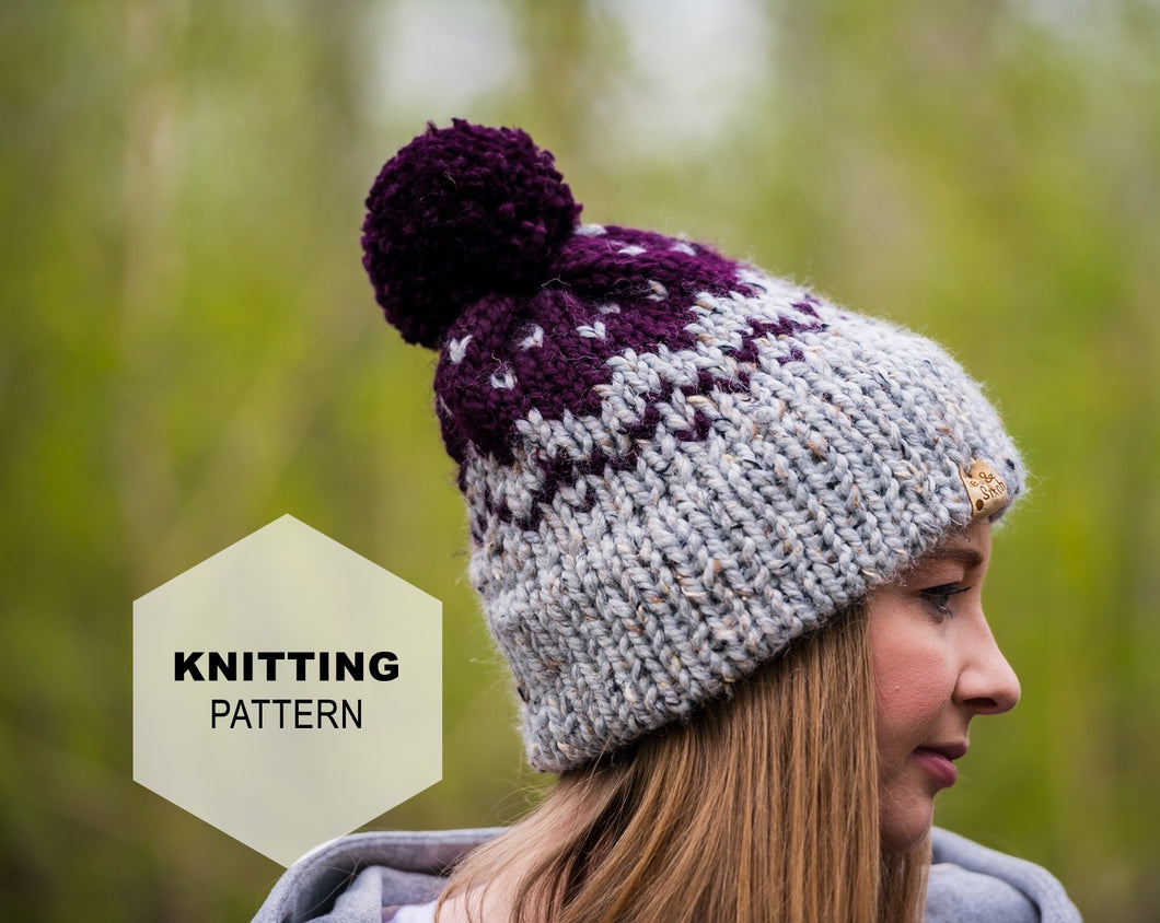 Mission Hill Toque: Knit PATTERN