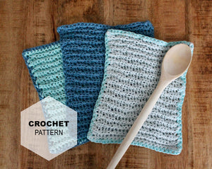 Everyday Dishcloth: Crochet PATTERN