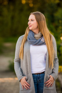 Woodlands Infinity Scarf: Knit PATTERN