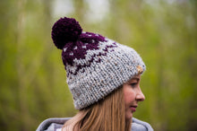 Load image into Gallery viewer, Purple Mission Hill Toque
