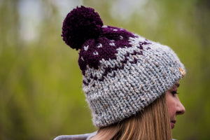 Purple Mission Hill Toque