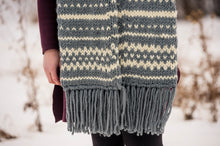 Load image into Gallery viewer, Oakmont Scarf: KNIT PATTERN
