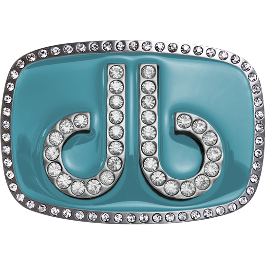 Druh Db Diamante Aqua Buckle