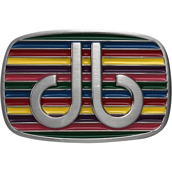 Multi-coloured Stripe Buckle