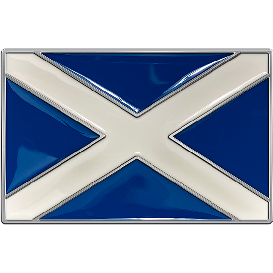 Scotland Country Flag Buckle