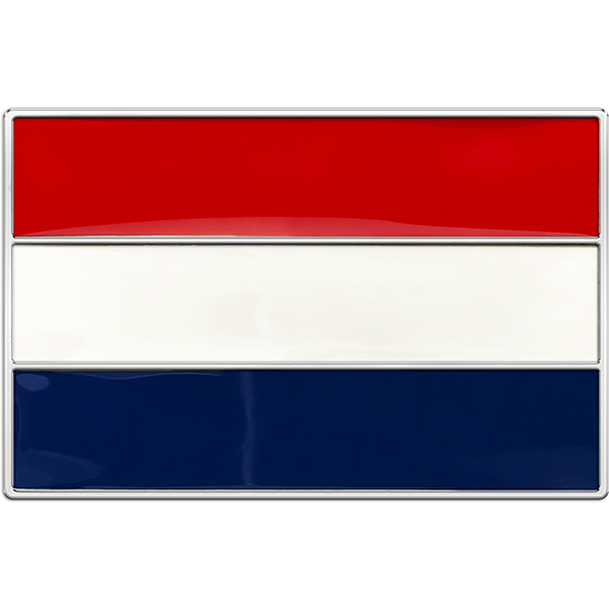 Netherlands Flag Buckle