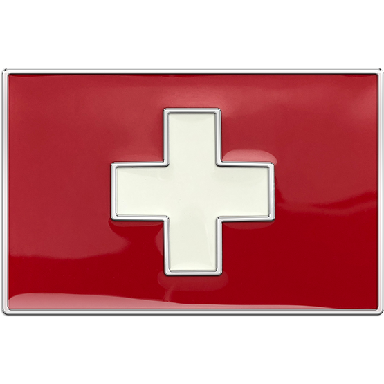 Switzerland Flag Buckle