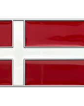 Denmark Flag Buckle