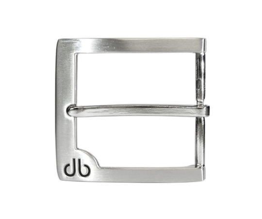 Classic Prong Buckle with Black Detail