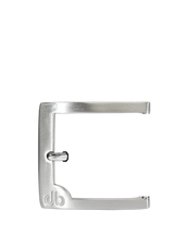 Classic Prong Buckle with White Detail