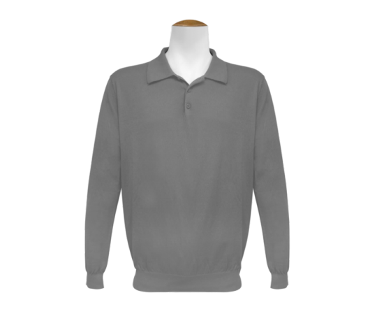 Long Sleeve Jumper - Grey