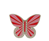 Red and Pink Butterfly Buckle