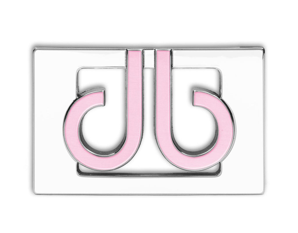 db Colour Thru Buckle - White/Pink