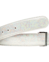 Limited Edition - Crystal White Leather Belt