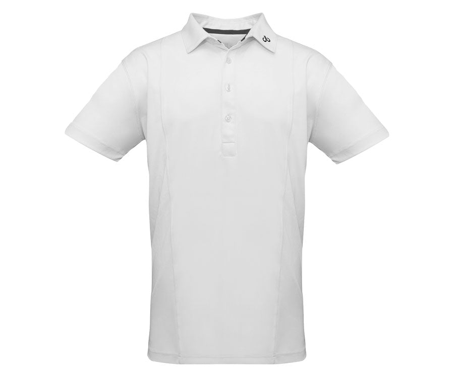 White Designer Polo Shirt