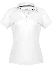 White Designer Polo Shirt Women