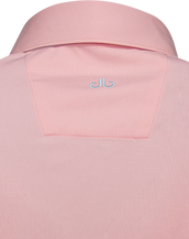 Pink Designer Polo Shirt Women