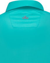 Green Designer Polo Shirt Women