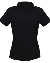 DB01 Black Polo Shirt Women