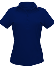 DB01 Blue Polo Shirt Women