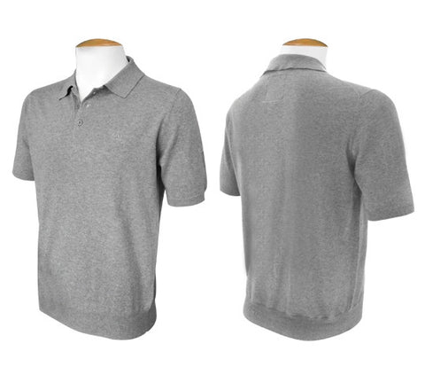 Short Sleeve Jumper - Grey