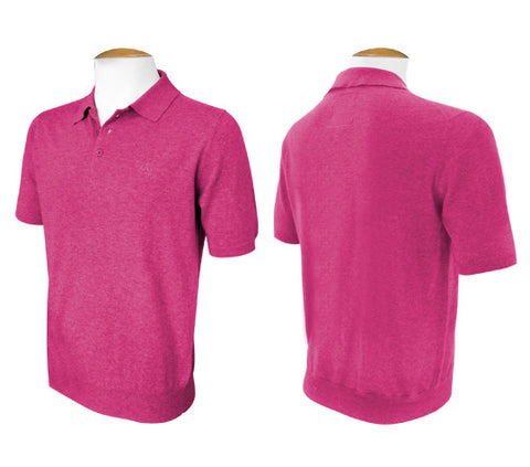 Short Sleeve Jumper - Magenta