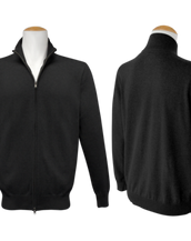 Full Zip Jumper - Black