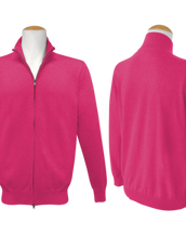 Full Zip Jumper - Magenta