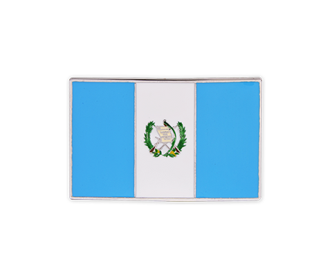 Guatemala Flag Buckle