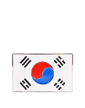 Korea Flag Buckle