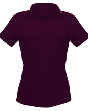 DB01 Purple Polo Shirt Women