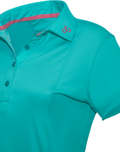 Aqua Designer Polo Shirt Women