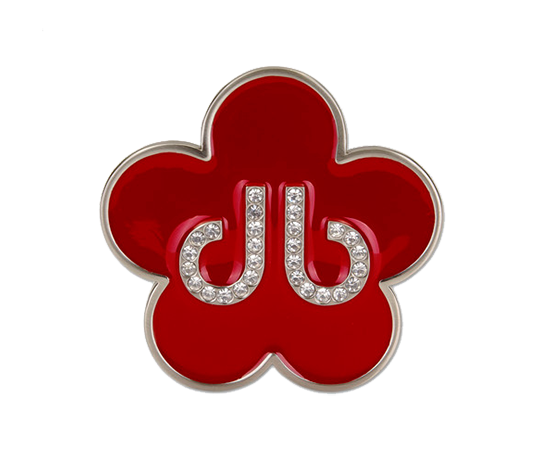Red Flower Buckle