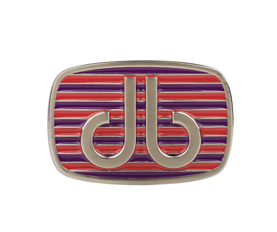 Purple and Pink Stripe Buckle