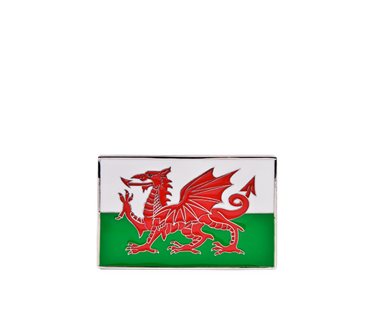Wales Country Flag Buckle