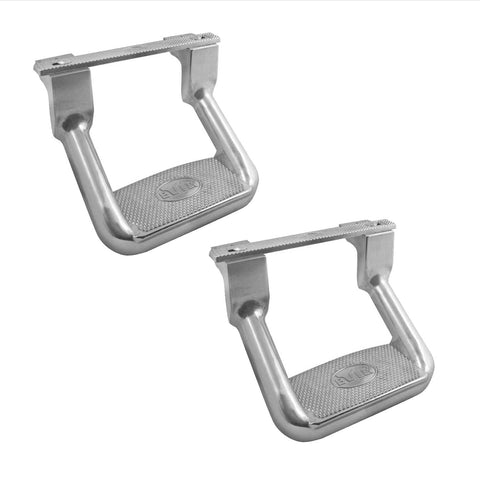 BULLY AS-200 Aluminum Polished Side Step - Pair