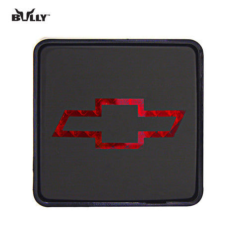 BULLY CR-007C Licensed Chevrolet Hitch Cover with Brake Light