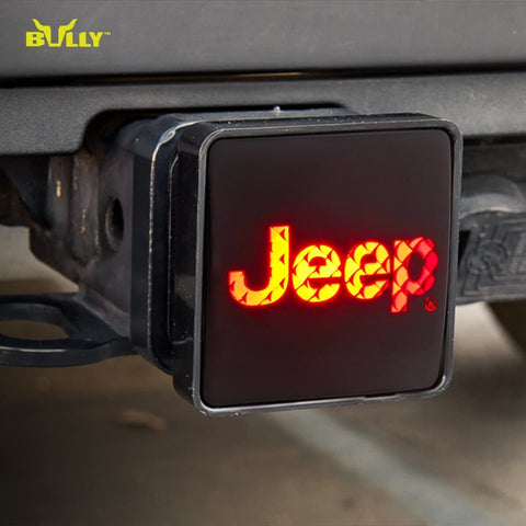 BULLY CR-007J Licensed JEEP Hitch Cover with Brake Light