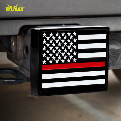 BULLY CR-765R First Responders Red Line Hitch Cover