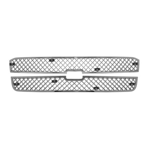 Mesh Grille, Fits: 03-05 Chevy Silverado