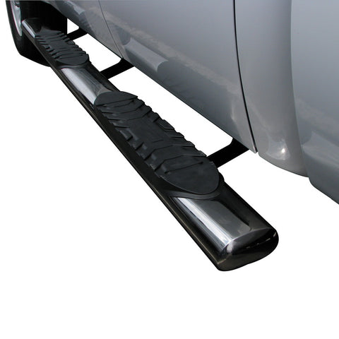 "5"" Oval Step Bar: Fits: 99-13 Silverado/Sierra Ext Cab"