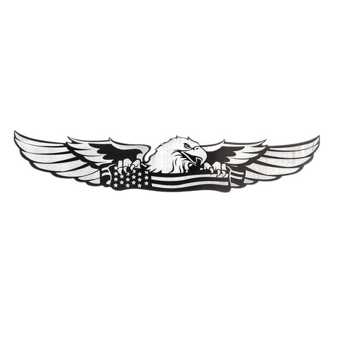 BULLY TT-154 Eagle Stainless Steel Emblem.