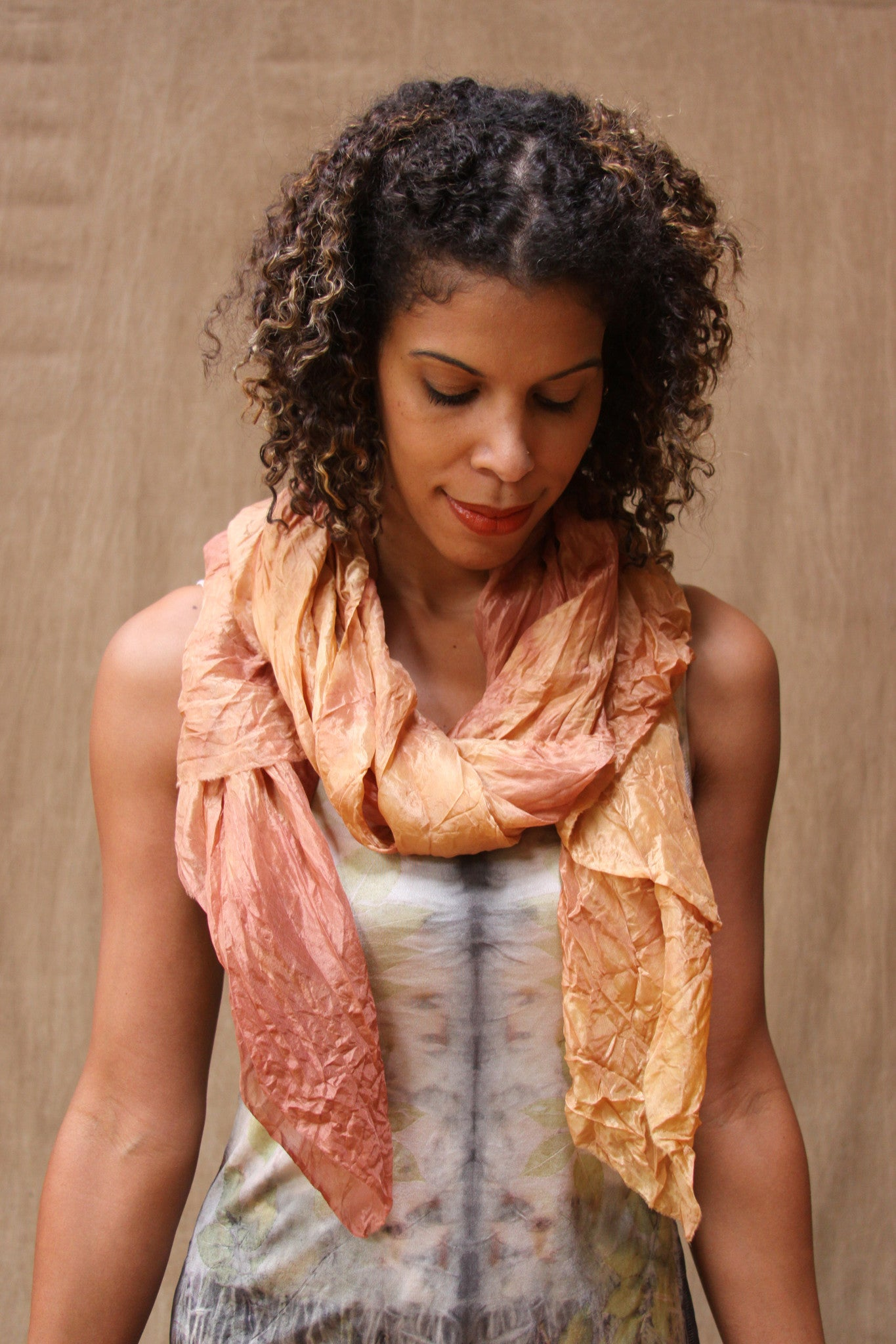 Diaphanous Scarf in Dusk