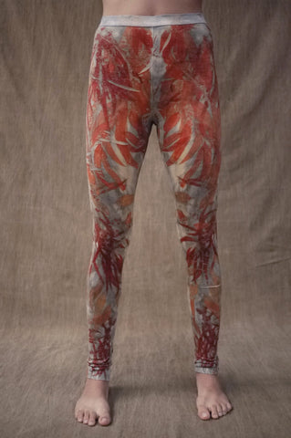 Woodswalker Leggings in Smoke&Flame